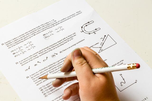 psaní testu