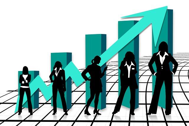 růst podnikatelky