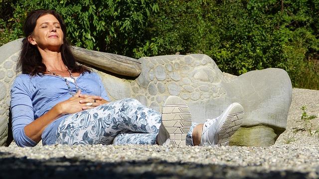 odpočinek na sluníčku