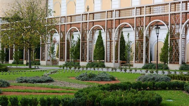 Zahrady v zámku Mikulov